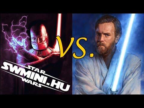 Obi-Wan Kenobi vs. Darth Malak | Star Wars Versus Series