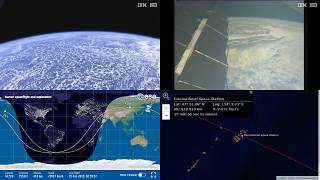 Asian Coastlines - NASA/ESA ISS LIVE Space Station With Map - 492 - 2019-02-19