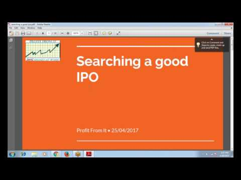 How to search good IPO ?