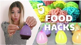 Die 5 genialsten & verrücktesten FOOD HACKS ♥ Darauf wärst du nie gekommen !