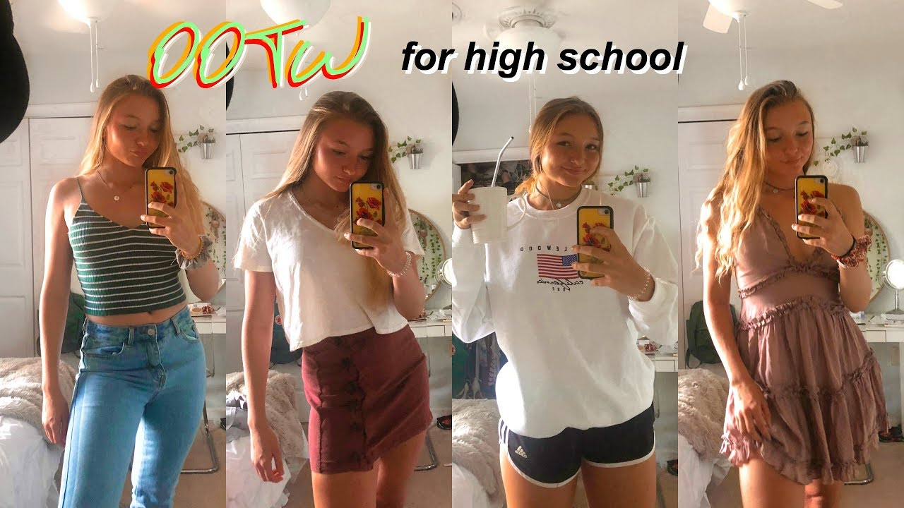 [VIDEO] – High School Outfits of the Week | + outfit ideas