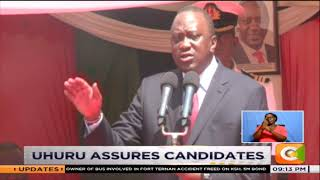 President Uhuru assures all KCPE candidates will be admitted to secondary schools
