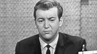 What's My Line? - Bobby Darin; Alan King [panel] (Dec 9, 1962) [W/ COMMERCIALS!]