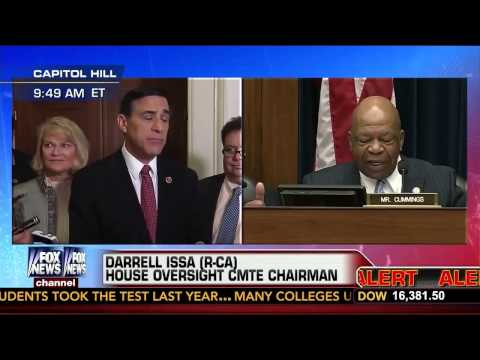 Darrell Issa Cuts Off Rep. Elijah Cummings' Mike During IRS Hearing