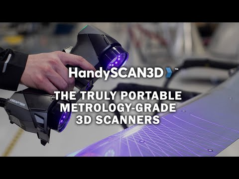 HandySCAN BLACK: The Ultimate Reference In Portable Metrology