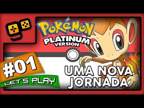 Let's Play: Pokémon Platinum - Parte 1 - Uma Nova Jornada