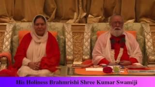 his holiness brahmrishi shree kumar swamiji live from abudhabi emirates palace hotel