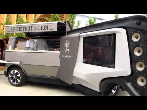 Peugeot Food Truck @ Milan 2015 Exposition Universelle 5 mai Milano