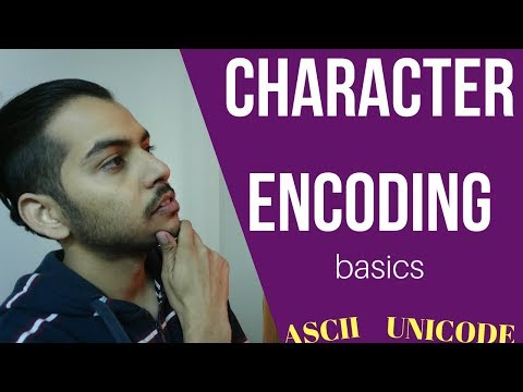 Character Encoding and Unicode Tutorial