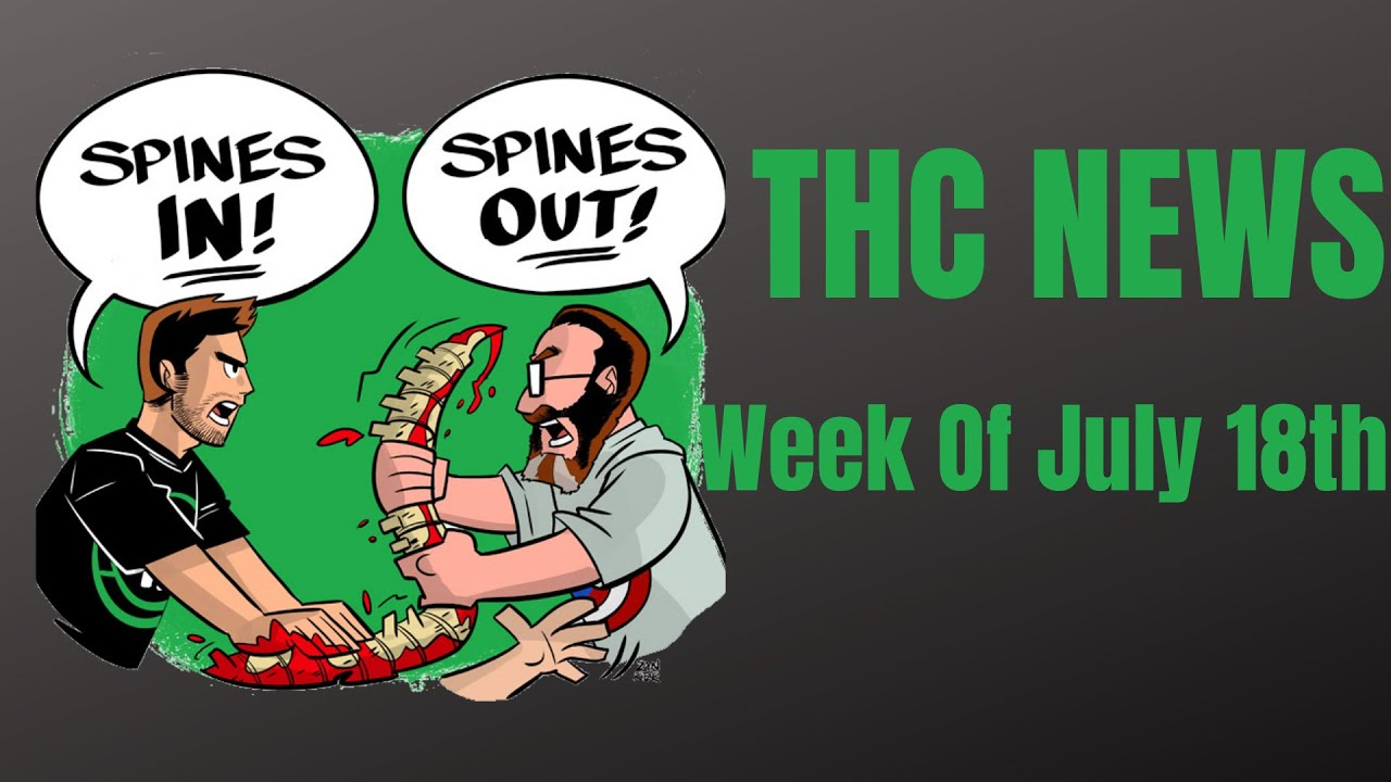 The Hardcover Comic News - Week Of July 18th