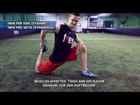 How To Warm Up for Soccer/Football (Free Kicks & Games)