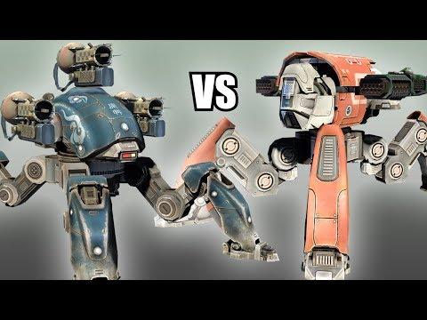 Fujin (Tarans) vs Raijin (Thunders) - AnakinTEST #5 | War Robots