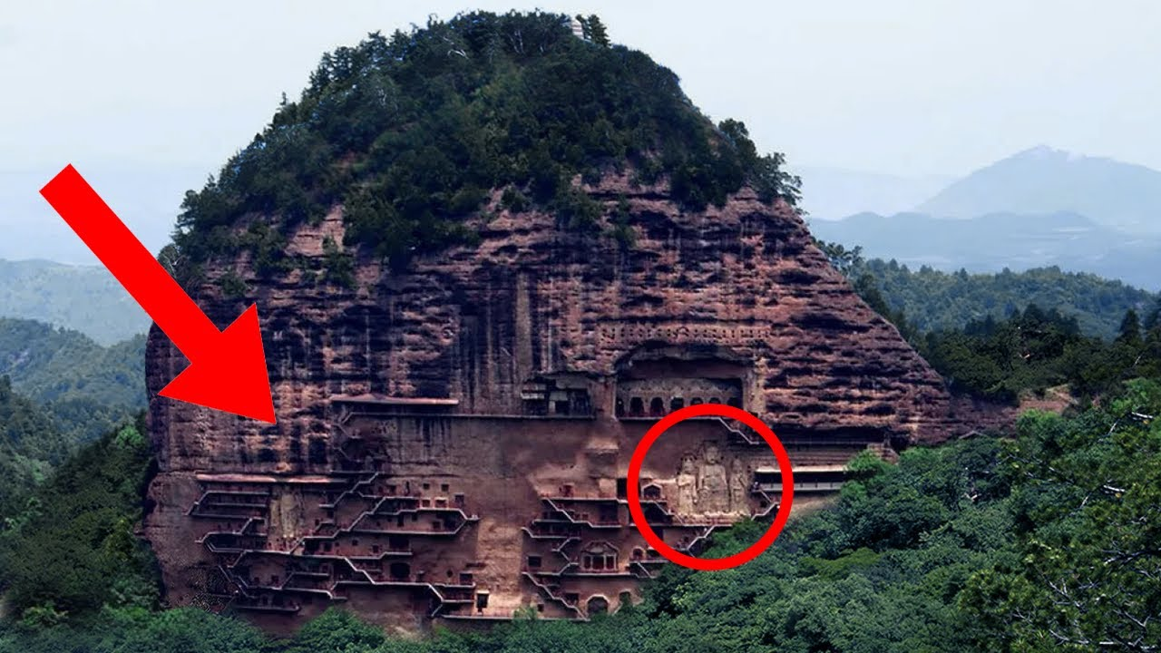 Over 7,000 Buddhist Sculptures Were Carved In This Enormous Mountain Since 1,500 Years Ago!