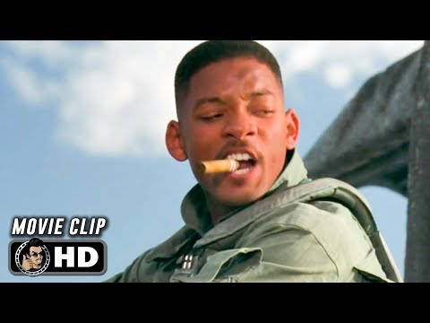 INDEPENDENCE DAY Clip - Welcome To Earth (1996) Will Smith