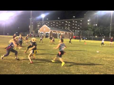 Girls Flag Football, Michelle Roque (college edition)