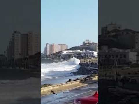 Massive waves in East London