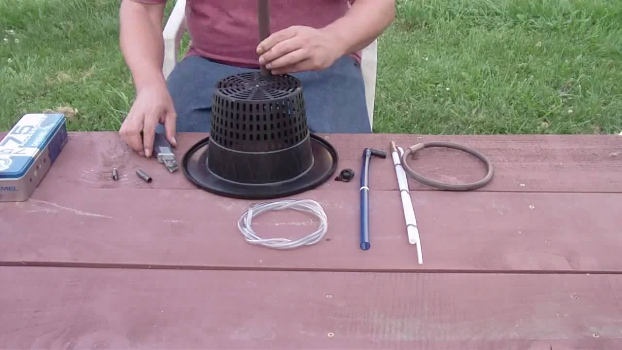 How To Make A Top Drip Bucket Hydroponic System Youtube