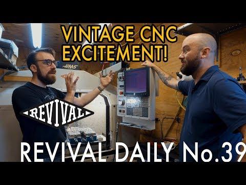 Vintage CNC Machine // Revival Daily 39