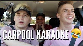 CARPOOL KARAOKE w/ ItsNickBean & Edwin Burgos | Zach Clayton