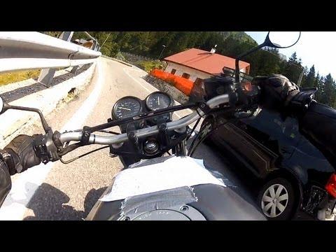 RAW onboard: RIDE IT LIKE YOU STOLE IT // Cave del Predil (Raibl, Rabelj) HONDA CB500