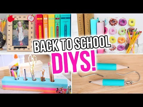 10 BACK TO SCHOOL DIYs You Have to Try! - HGTV Handmade