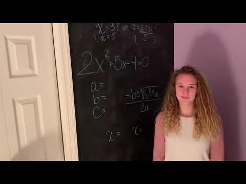 Quadratic Formula Song