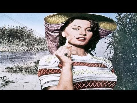 Woman of the River The River Girl  Sophia Loren 1955