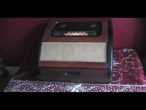 "A Restored 1946 Philco 46-1201 ""Bing Crosby"" Phonograph/Radio"