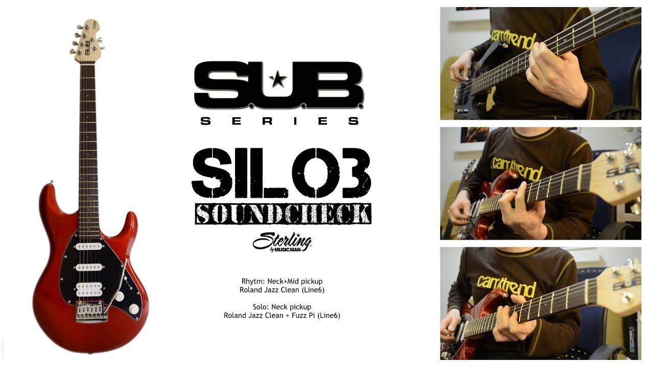 Sterling by Music Man S.U.B. Silo 3 - Test w Infomusic.pl - YouTube