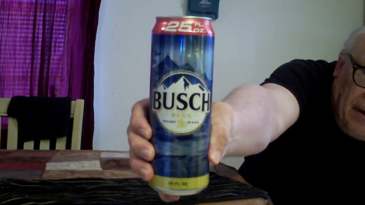 Busch Beer Review - My Way