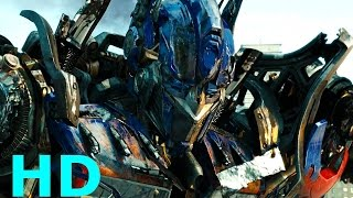 Optimus Prime vs. Megatron & Sentinel Prime - Transformers: Dark Of The Moon Blu-ray HD Sheitla