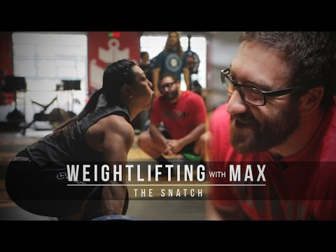 Weightlifting with Max | The Snatch | JTSstrength.com