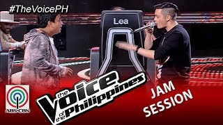 "The Voice of the Philippines: Eric Nicolas sings ""Get Here"" with Coach Bamboo (Season 2)"