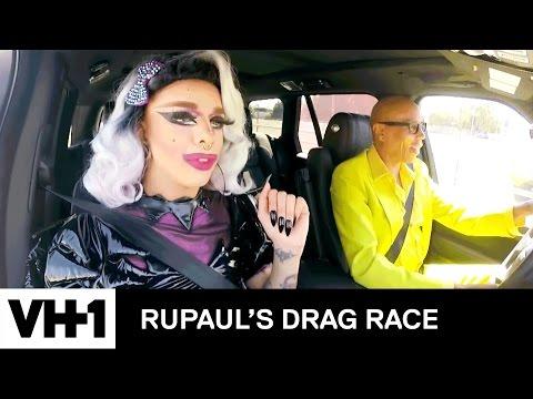 Drag Queen Carpool: Aja  RuPaul's Drag Race Season 9  Now on VH1!