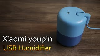 Xiaomi youpin USB Humidifier increase air humidity and reduce dust and bacteria, approx Rs. 1600