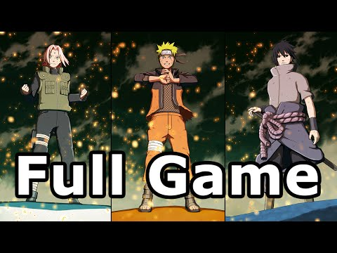 Naruto Shippuden Ultimate Ninja Storm 4 Full Game Walkthrough - No Commentary