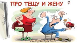 Про тещу и Про жену.  Смешные Анекдоты - 7