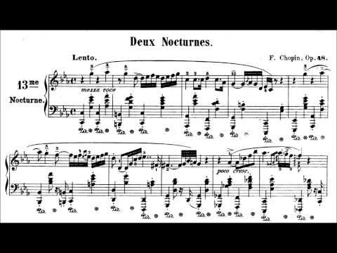 Chopin: Nocturne Op.48 No.1 in C Minor (Ashkenazy)