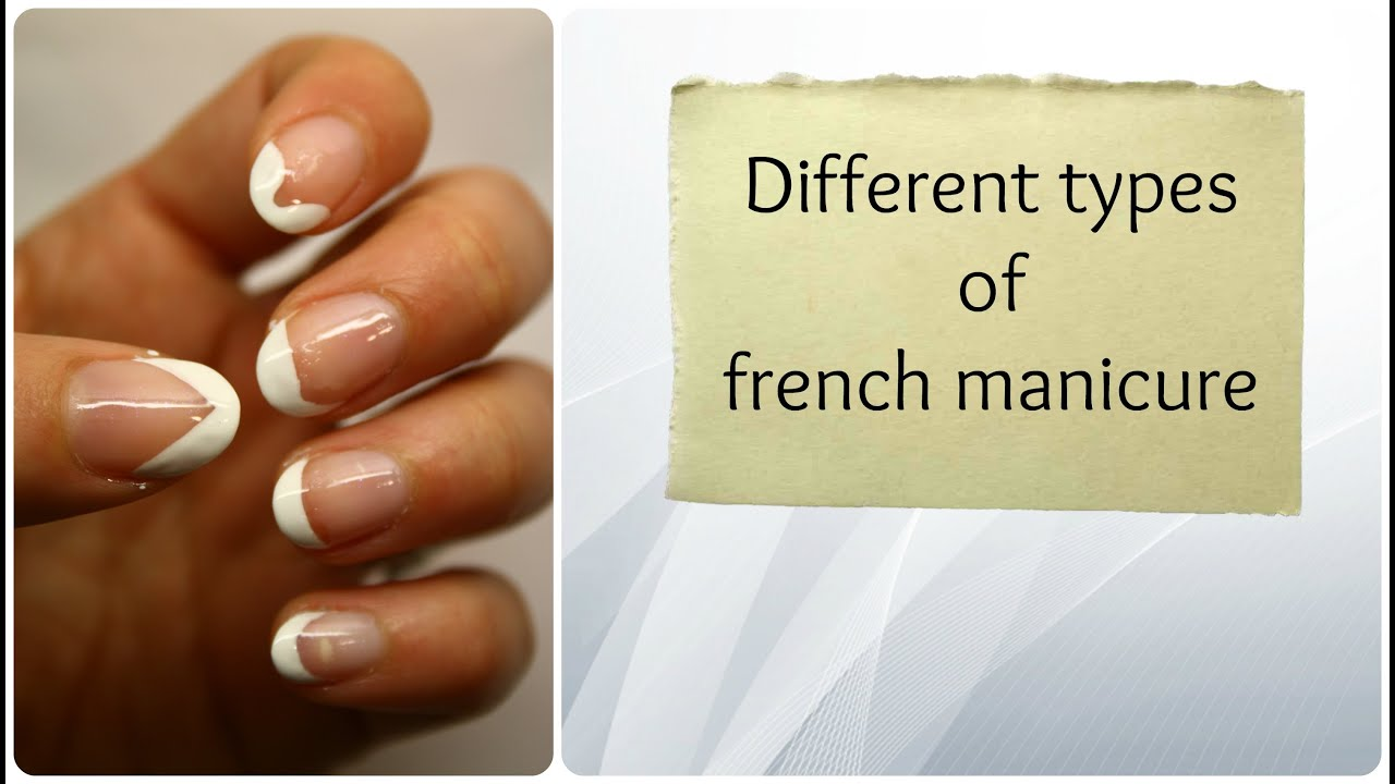 Different types of french manicure (BornPrettyStore prod) - YouTube