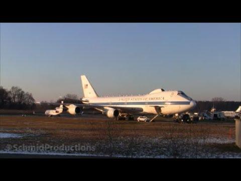 USAF Boeing E-4B (747-200) at Zürich-Kloten