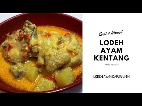 cara-membuat-resep-masakan-lodeh-ayam-kentang-enak
