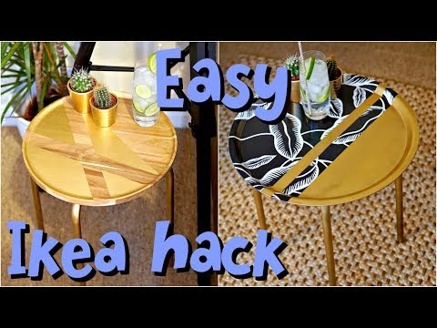 DIY Ikea Hack Side Tables