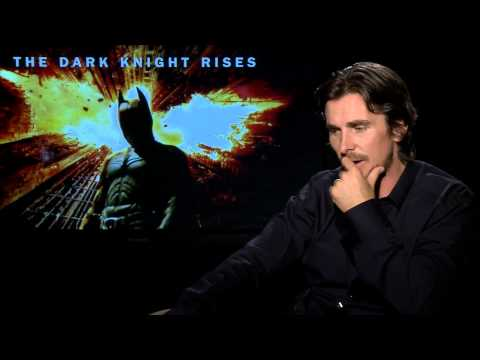 Christian Bale Talks 'The Dark Knight Rises'