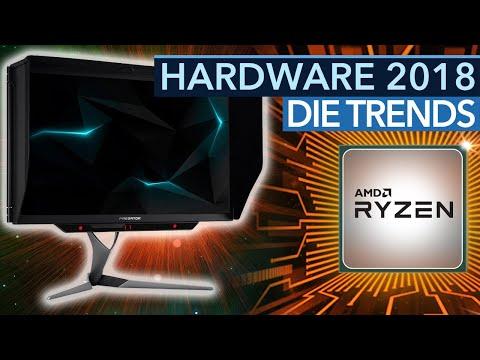 Hardware-Trends 2018 - Die Neuheiten bei CPUs, Grafikkarten, Monitoren und Speicher