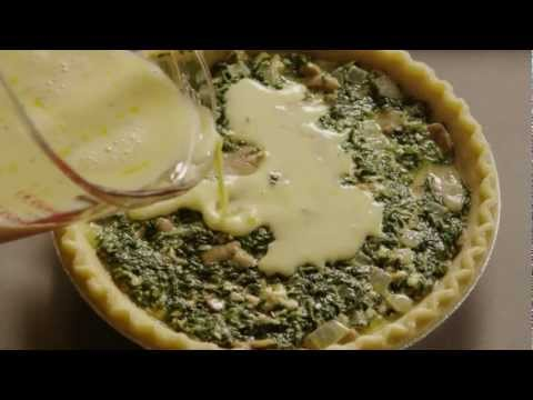 How to Make Spinach Quiche