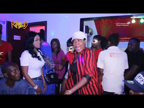 Watch Sikiratu Sindodo Pasuma Omo Butty Toyin Abraham Dances Shaku Shaku Like Never Before