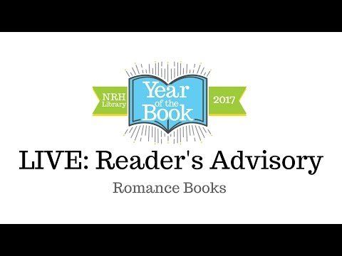 Romance Book Recommendations Live on Facebook