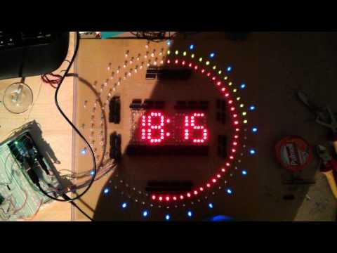 MAX7219 8-Digital Segment Digital LED Anzeigen Tube Arduino 51//AVR//STM32 AIP