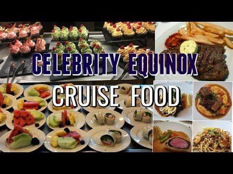 Celebrity Equinox CRUISE FOOD!
