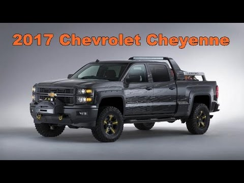 2017 Chevrolet Cheyenne Picture Gallery